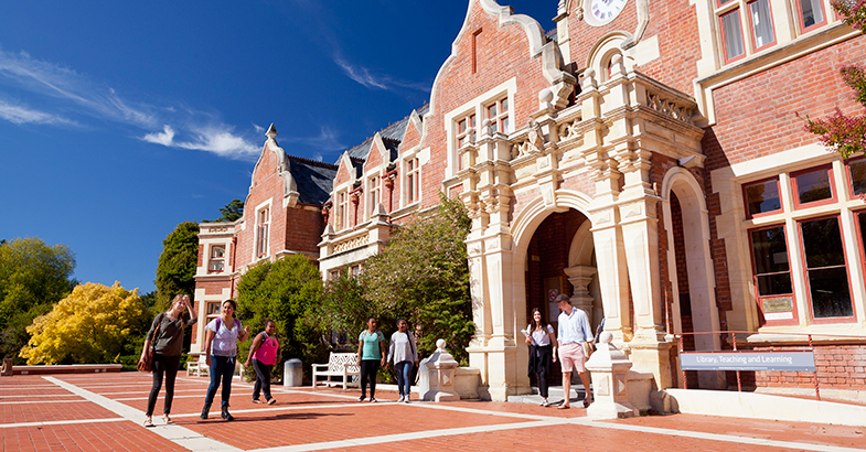 Which universities are considered 'The Top' ones in New Zealand?